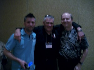 Marcus Passey, Gary Simpson (also known as GazzMan), Vance Sova