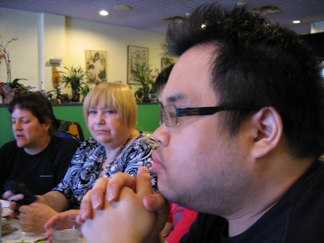 Arriane, Bonnie and Ed