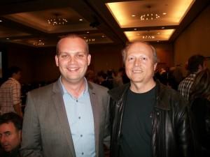 Lee McIntyre and Vance Sova, Canada Marketing Summit 2010