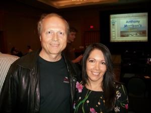 Maritza Parra, Vance Sova, Canada Marketing Summit 2010